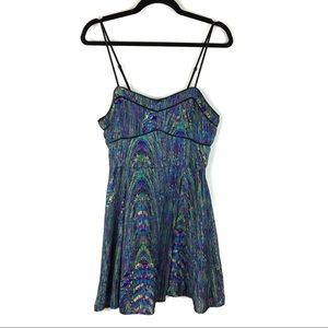 Jack by BB Dakota Swirl of My Dreams Dress M